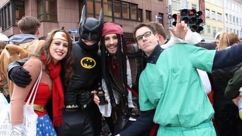 Fasching, Fasnet, Karneval ind BW und RLP (Foto: DASDING // SWR)