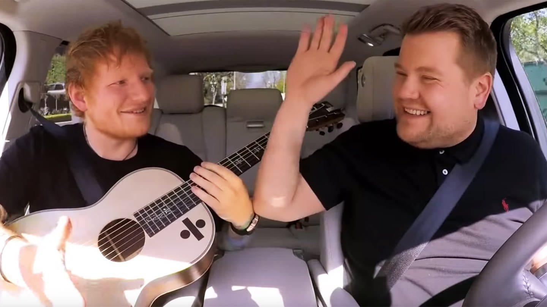Ed Sheeran Carpool (Foto: YouTube / The Late Late Show with James Corden)