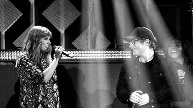 Taylor Swift & Ed Sheeran on stage (Foto: DASDING)