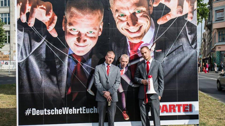 Die Partei K.I.Z. (Foto: Facebook / Die Partei Berlin)