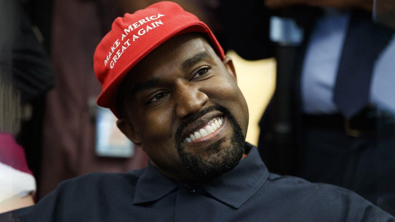 Kanye West bei Donald Trump im Oval Office mit