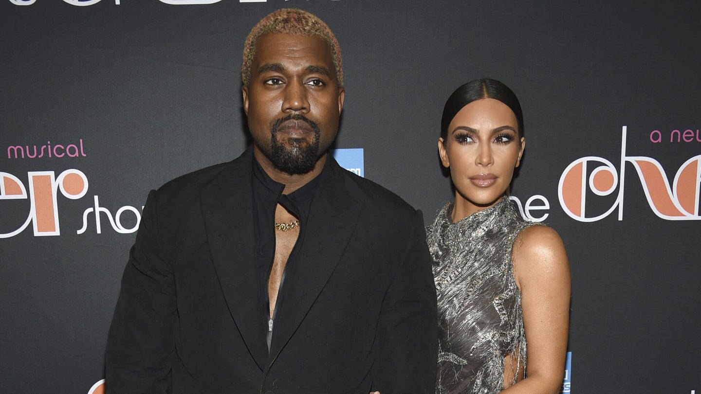 Kim Kardashian und Kanye West bei der Broadway-Premiere vom Musical