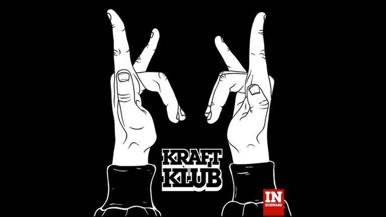 Neues Album: Kraftklub - In Schwarz (Foto: www.kraftklub.to)