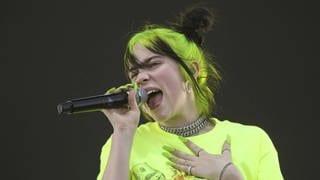 Billie Eilish (Foto: picture-alliance / Reportdienste, Fotograf: Jack Plunkett)