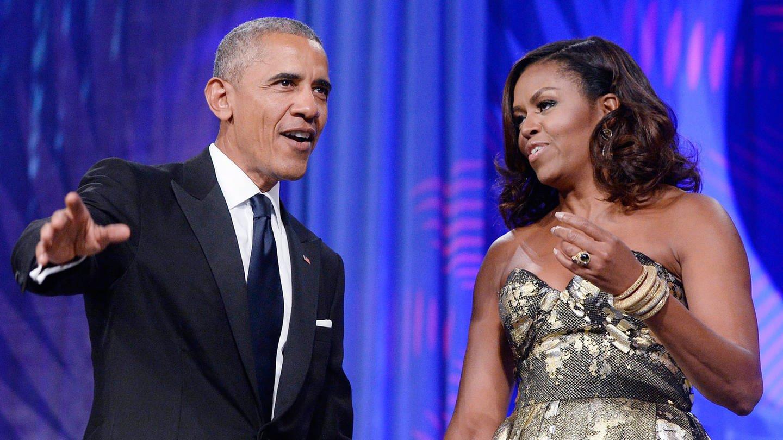 Barack und Michelle Obama (Foto: picture-alliance / dpa)