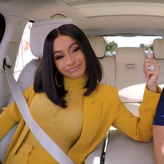 Cardi B beim Carpool Karaoke (Foto: DASDING, Screenshot Carpool Karaoke)