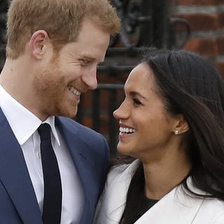 Meghan Markle und Prinz Harry (Foto: picture-alliance / dpa, Matt Dunham;)