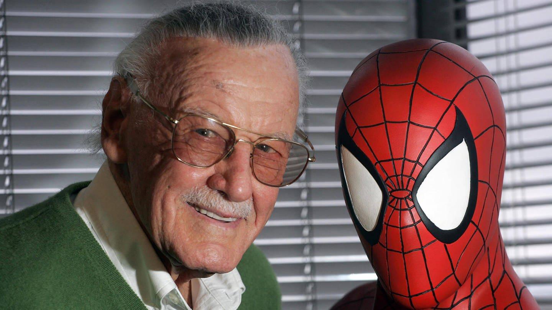 Stan Lee und Spiderman (Foto: Imago, ZUMA Press)