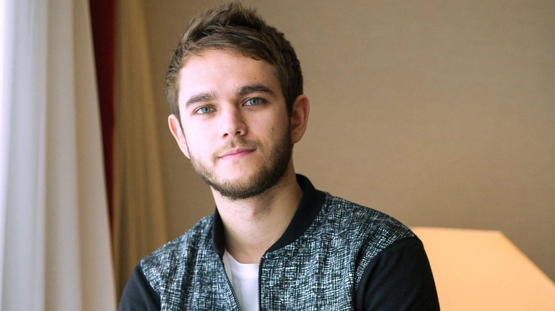 Zedd bei einem Interview in Berlin (Foto: dpa Bildfunk)