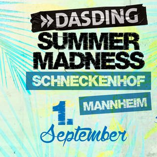 2018-09-01 DASDING Summer Madness in Mannheim (Foto: SWR)