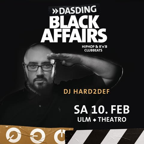 2018-02-10 DASDING Black Affairs Party im Theatro in Ulm (Foto: SWR, DASDING)