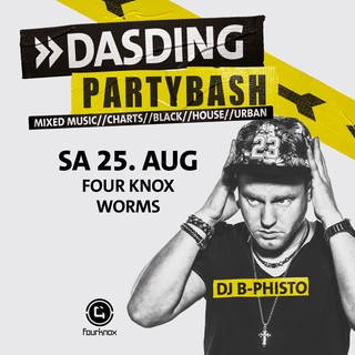 2018-08-25 DASDING Partybash im Four Knox in Worms (Foto: SWR, DASDING)