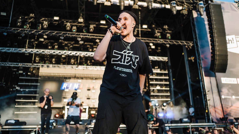 RIN auf dem Splash!-Festival 2018 (Foto: DASDING, Ronny Zimmermann)