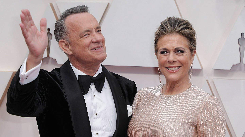 Tom Hanks mit seiner Frau Rita Wilson (Foto: Imago, ZUMA Wire)