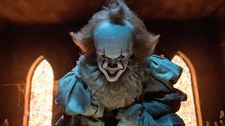 Pennywise aus dem Horror-Film ES (Foto: picture-alliance / dpa, Brooke Palmer)