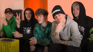 Why Don't We im Scratched Interview mit DASDING (Foto: DASDING)