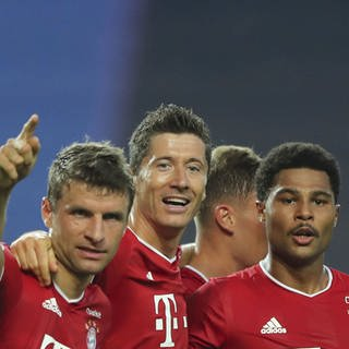 Bayern im Championsleague-Finale (Foto: picture-alliance / Reportdienste, Miguel A. Lopes/pool EPA via AP/dpa)