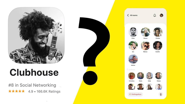 Clubhouse (Foto: DASDING, Apple-Screenshot)