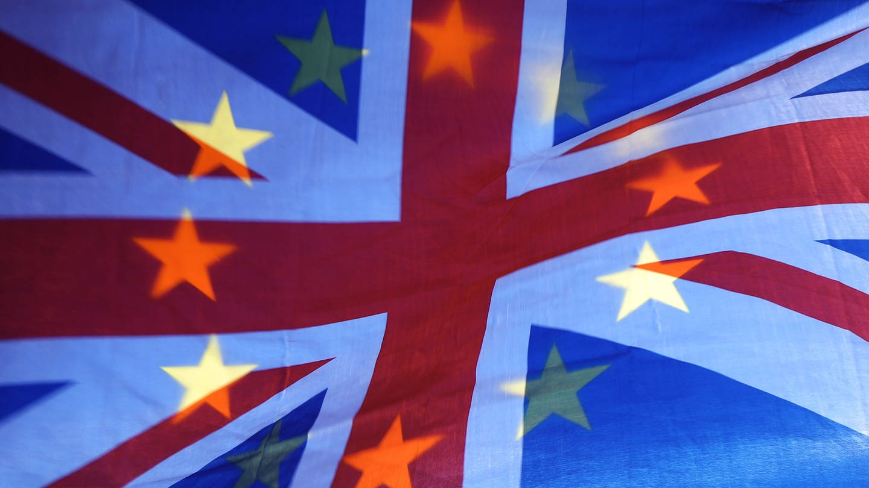 Europaflagge zum Brexit