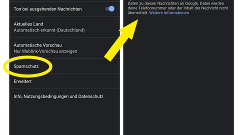Spamschutz Android (Foto: DASDING)
