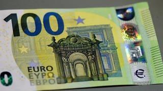 Die Voderseite einer 100-Euro-Banknote (Foto: dpa Bildfunk, picture alliance/dpa | Esma Cakir)