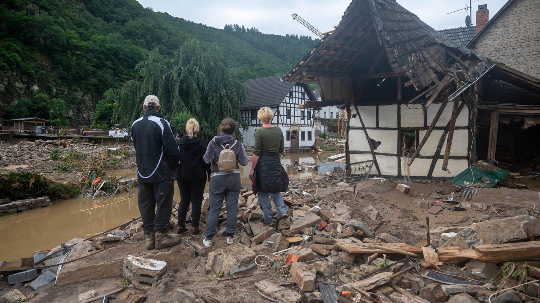 Unwetter Ahrweiler Haus Hochwasser
